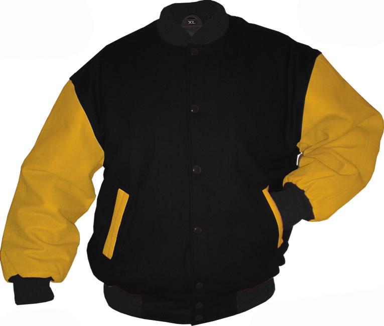 20varsity letterman jacketsgold black varsity jacketjpg