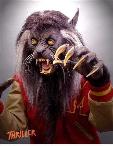 Michael Jackson Thriller Werewolf Mask Life Size! Teenage THR...