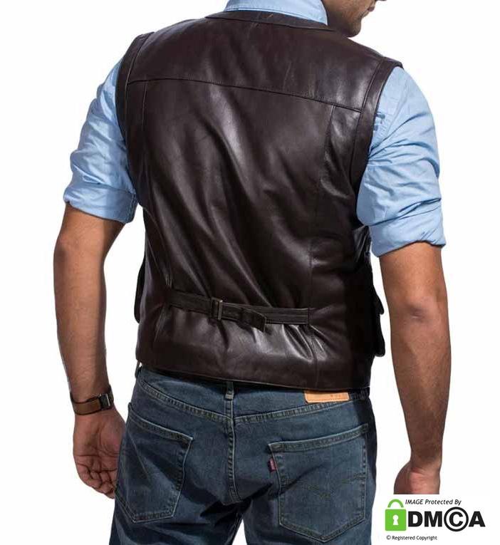 Jurassic World Owen Grady Vest Leather
