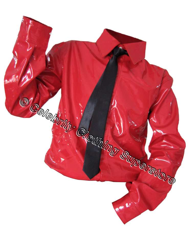 MJ-Pics/Michael%20Jackson%20Red%20PVC%20Dangerous%20Shirt/mj-red-dangerous-pvc-shirt.jpg