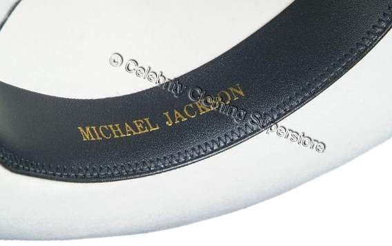a2e41c0ceb9a9 MJ-Pics michael%20jackson%20fedora%20hat%20with%20name . Available in black  or white! Our Pro Fedora s ...
