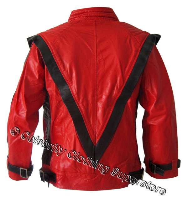 michael jackson red thriller jacket pro series 11999