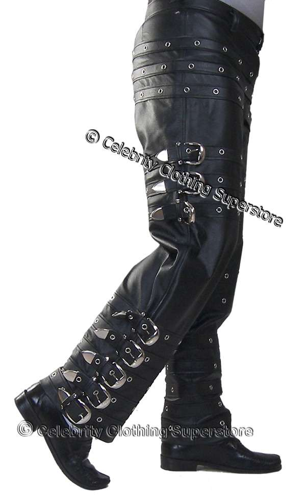 Michael Jackson BAD Tour Buckle Trousers