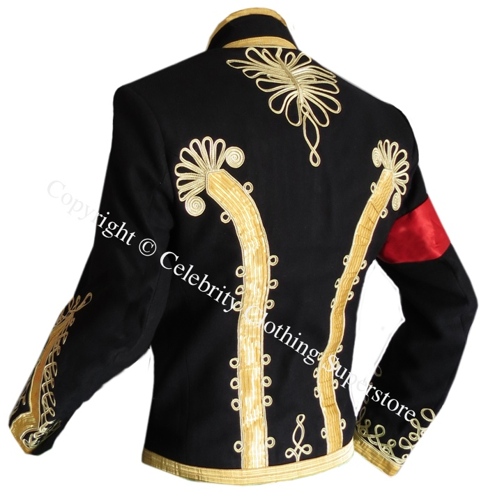 Michael%20Jackson%20Hussars%20Gilt%20Braid%20Jacket%20-%20Tunic%20Pelisse/Michael%20Jackson%20Gilt%20Braid%20Military%20Tunic%20-%20back.jpg