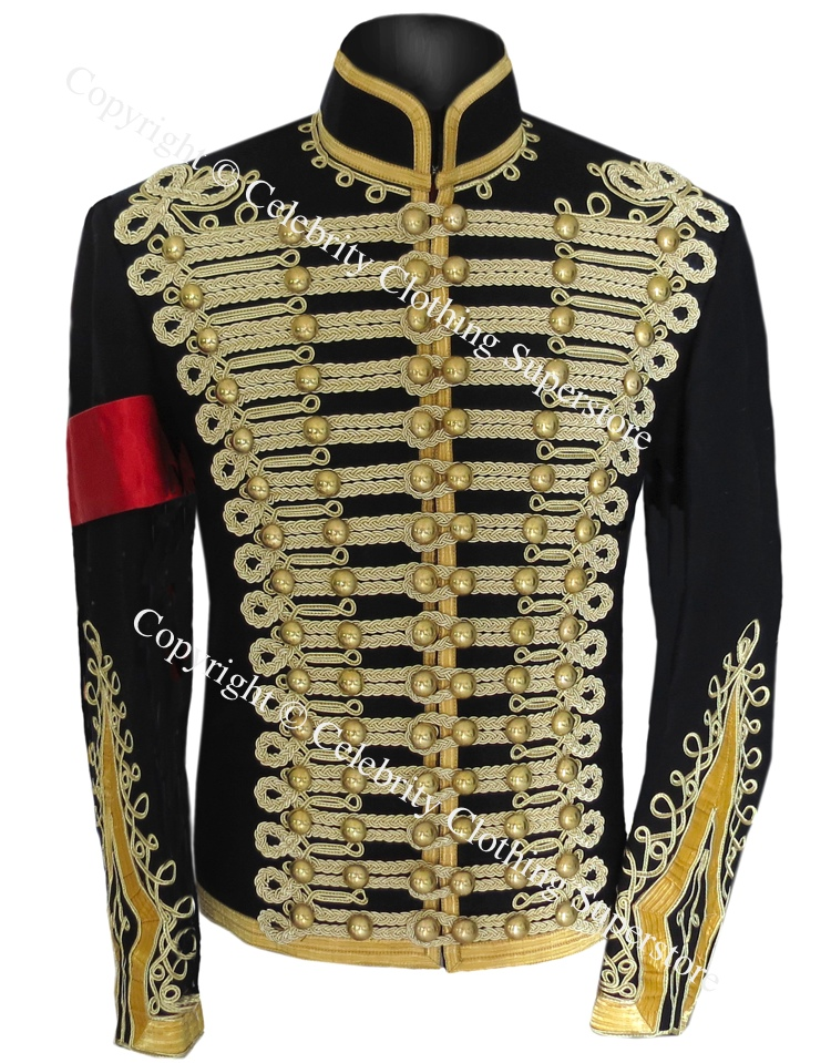Michael%20Jackson%20Hussars%20Gilt%20Braid%20Jacket%20-%20Tunic%20Pelisse/Michael%20Jackson%20Gilt%20Braid%20Military%20Tunic.jpg