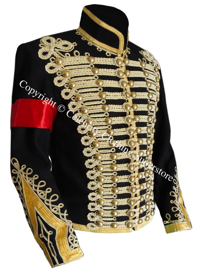 Michael%20Jackson%20Hussars%20Gilt%20Braid%20Jacket%20-%20Tunic%20Pelisse/Michael%20Jackson%20Gilt%20Braid%20Military%20jacket%20MJ.jpg