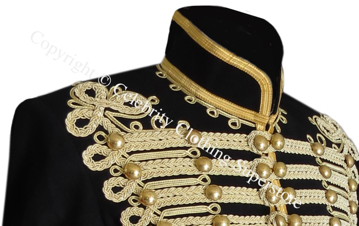 Michael%20Jackson%20Hussars%20Gilt%20Braid%20Jacket%20-%20Tunic%20Pelisse/Michael%20Jackson%20Gilt%20Braid%20Military%20jacket.jpg