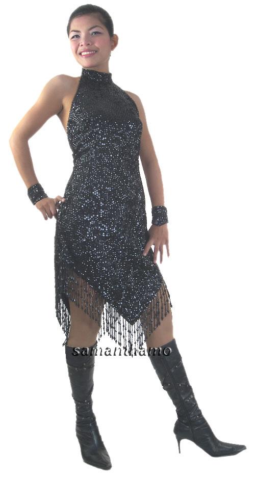 Sequin-Dresses/RM469-Short-Handmade-Sequin-Dress-Chinese-Colla.jpg
