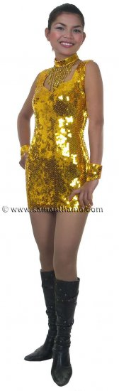 CT508 Sparkling ' Sequin Dance, Occasion Costume, Dress - Click Image to Close