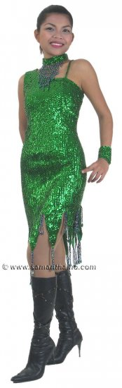 CT520 Sparkling ' Sequin Dance, Occasion Costume, Dress - Click Image to Close