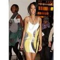 Rihanna superb' sequined mini dress