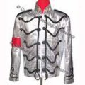 MJ Silver Military Jacket (Pro Series)