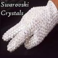MJ Performers - Glove with 100's Real Loch Rosen Crystals