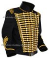 Casual Officer's Military Parade Jacket - Gold Braid