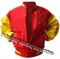 Michael Jackson Varsity Jacket (Real Leather Sleeve) Custom Made