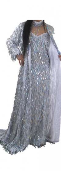 STC2070 Tailor Made Sparkling Full Length Sequin Overcoat - Click Image to Close