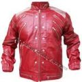 Michael Jackson Bad Jacket with Silver Eagle Badges