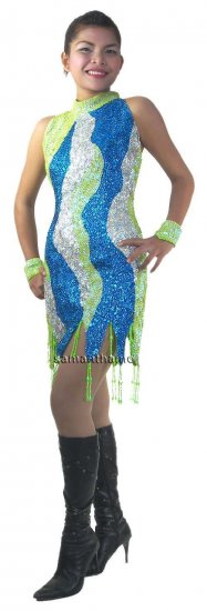CT519 Sparkling ' Sequin Dance, Occasion Costume, Dress - Click Image to Close