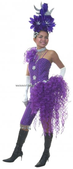CT496 Sparkling ' Sequin DIVA Sequin Showgirl Costume Head Dress - Click Image to Close