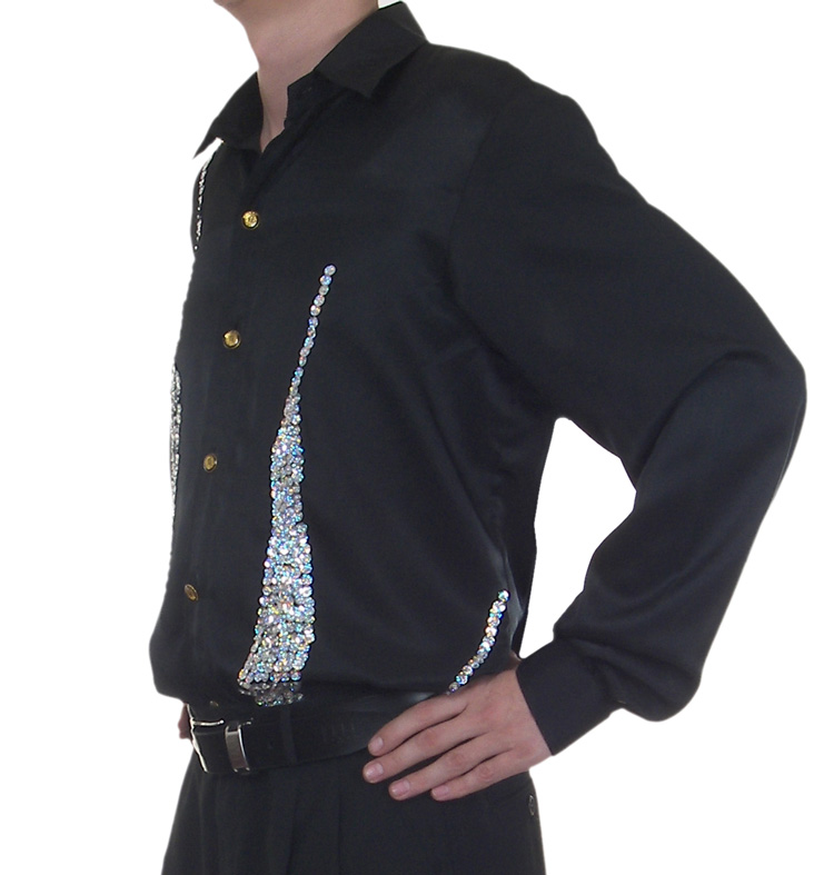cabaret-show-business-entertainers-clothing/sequin-stage-cabaret-entertainers-dance-shirt/cabaret-latin-salsa-shirt2.jpg