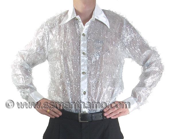 cabaret-show-business-entertainers-clothing/sequin-stage-cabaret-entertainers-dance-shirt/men%27s-cabaret-silver-tinsel-shirt.jpg