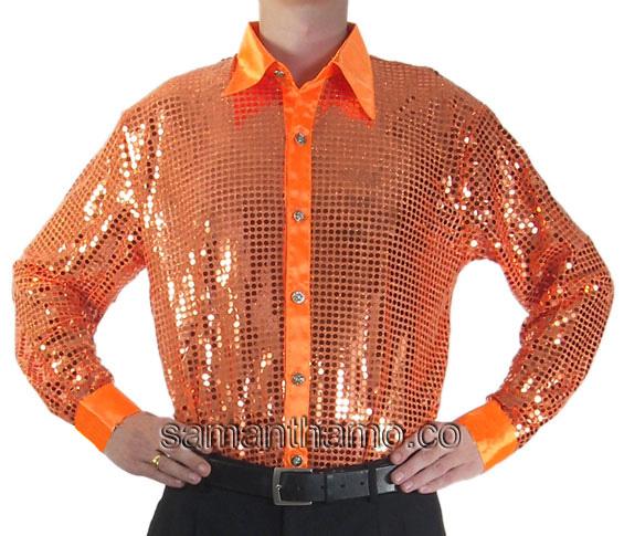https://michaeljacksoncelebrityclothing.com/entertainers-stage-shirts/SC07-orange-men-cabaret-sequin-shirt.jpg