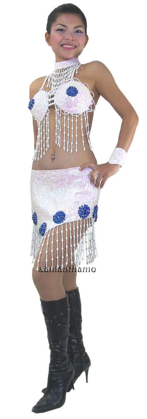 Tm3036 tailor made sparkling sequin dance dress for Tailor made dress shirts