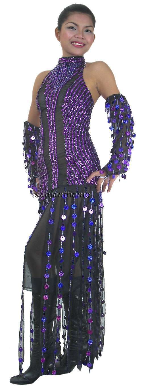 Tm2059 tailor made sequin dance dress michael for Tailor made shirts online
