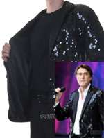 BRYAN FERRY SEQUIN JACKET (MADE TO ORDER)