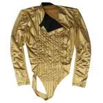 Michael Jackson Dangerous Gold Tour Leotard - (Pro Series)