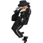Michael Jackson FULL Billie Jean Outfit / Costume - Pro Series - Click Image to Close