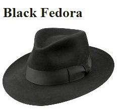 Michael Jackson Black Fedora - Pro Series