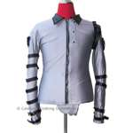 Michael Jackson Silver BAD Tour Bodysuit (Pro Series)