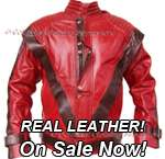 REAL Leather Michael Jackson Jackets Now Available !