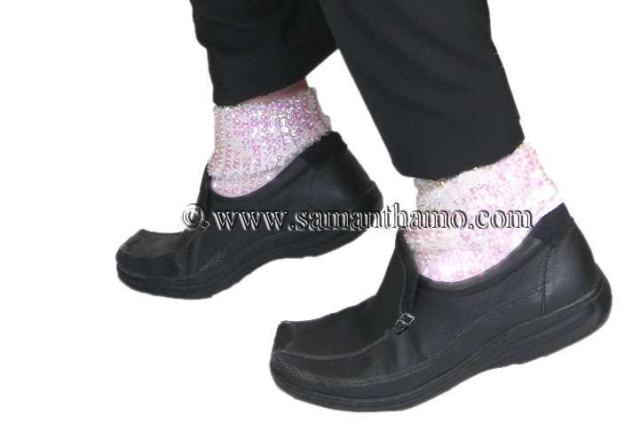 Michael Jackson Sparkling Sequin Socks (Standard)