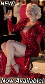 MARILYN MONROE DRESS, GENTLEMEN PREFER BLONDES