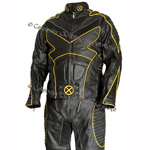 X-MEN 2 UNITED - WOLVERINE Leather Full Suit - Costume - Outfit - Click Image to Close