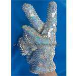 Michael Jackson Sequins & Diamante Glove (In Any Size Premier')