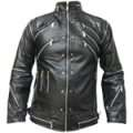 MJ Real Leather Black Beat It Jacket (All Sizes!)