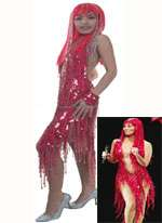CHER Sparkling 'Take Me Home' Sequin Dress (Made to Order)