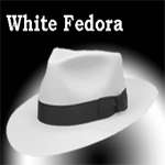 Michael Jackson White Fedora - Pro Series