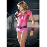 Madonna Sexy! Satin Leotard / Hot Pants - Click Image to Close
