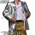 Michael Jackson 'This Is It ' Shining Silver Jacket - Pro Series