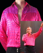 NEIL DIAMOND REPLICA ENTERTAINERS SEQUIN SHIRT (CLASSIC)