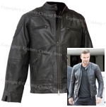 David Beckham Leather Jacket - Click Image to Close