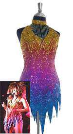 TINA TURNER REPLICA SPARKLING DANCE COSTUME