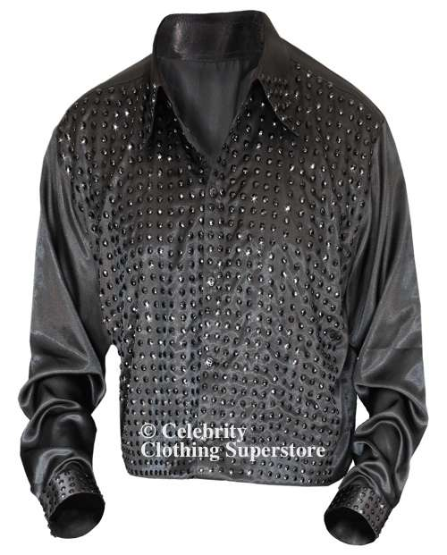 neil-diamond-impersonators-shirt/neil-diamond-black-crystal-stage-shirt-back.jpg