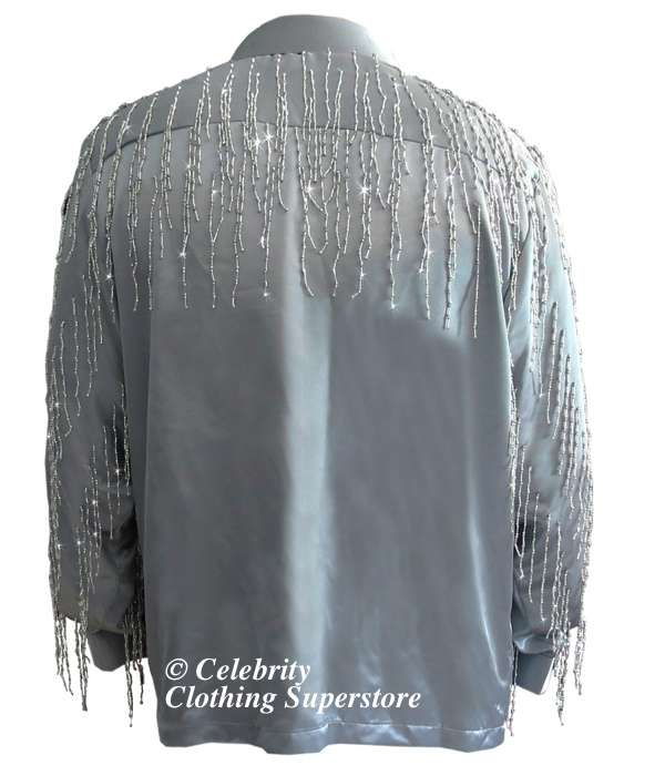 neil-diamond-impersonators-shirt/neil-diamond-grey-tassle-shirt-back.jpg