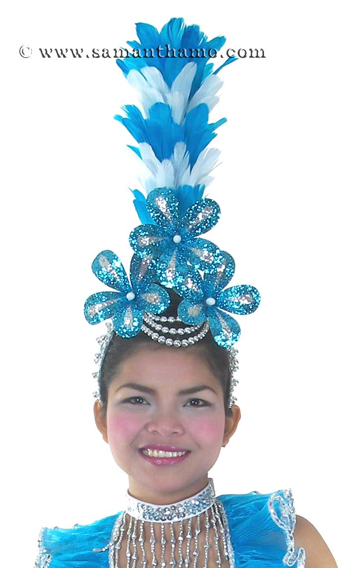 Hd175 Ready Made Las Vegas Show Girl Head Piece 77 99