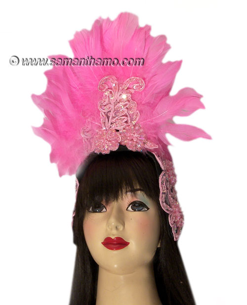 https://michaeljacksoncelebrityclothing.com/ready-made-head-dresses/HD410-pink-feather-headdress.jpg